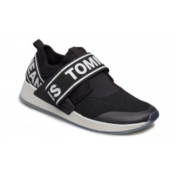 TOMMY JEANS FLEXI SNEAKER BLACK