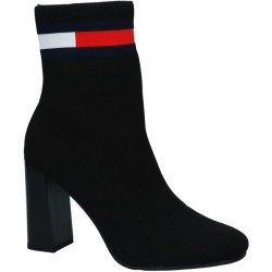 THDM SOCK HEELED BOOT BLACK