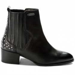 PEPE JEANS BOTIN NEGRO WATERLOO STRETCH