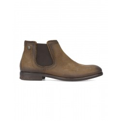 Tommy botin camel suede