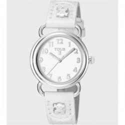 Tous reloj baby bear ss esf bca correa blanca