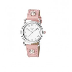 TOUS RELOJ BUBBLE SS + PINK DIAL AND STRAP