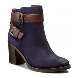 Tommy botin azul/marron