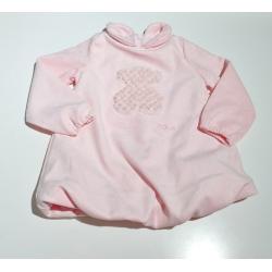 Tbaby vestido rosa