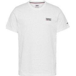 TOMMY CAMISETA REGULAR LOGO BLANCA