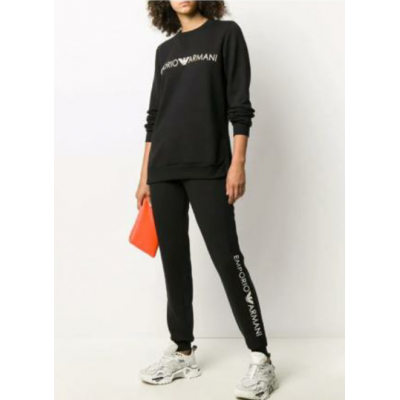 Armani pantalón chándal loungwear negro