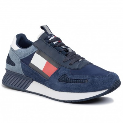 TOMMY JEANS LIFESTYLE SNEAKER INK/JEANS