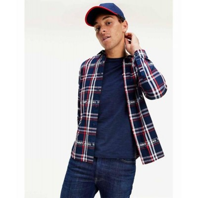 TOMMY CAMISA BRANDED FLANNEL