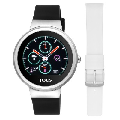 TOUS RELOJ ACTIVITY ROND TOUCH SILICONA INTERCAMBIABLE ACERO