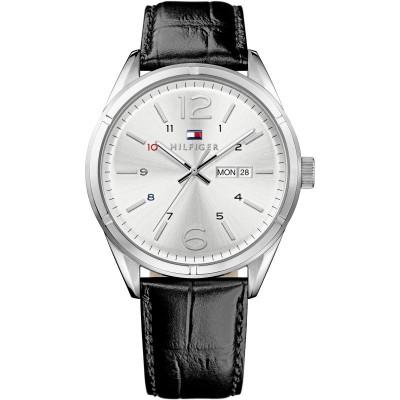 Tommy reloj H charlie ace 44 mm esf blanca corre negra