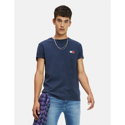 TOMMY HILFIGER CAMISETA BADGE TEE TWILIGHT NAVY