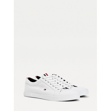 TOMMY HILFIGER ICONIC LONG LACE SNEAKER WHITE