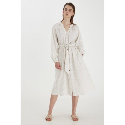 B.YOUNG BYHARIKA DRESS OYSTER MIX